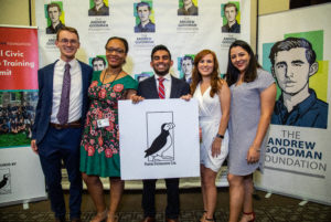 2018-2019 Andrew Goodman Puffin Democracy Fellows